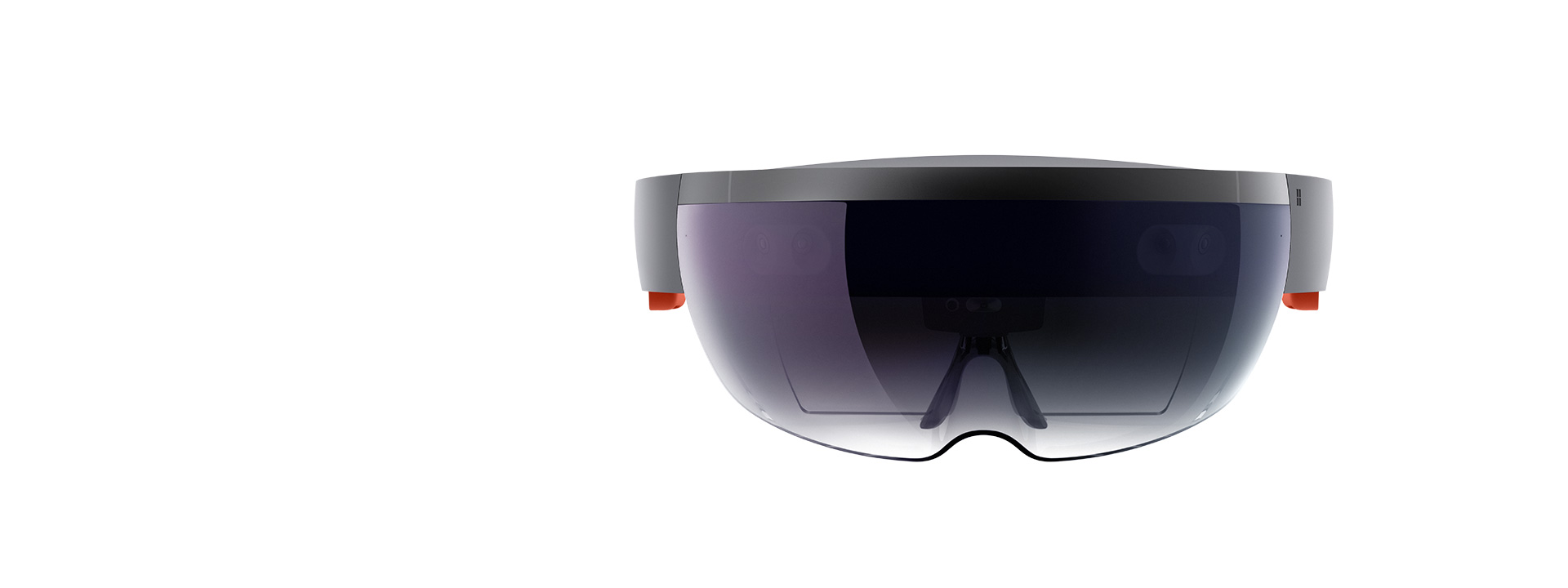 HoloLens as seen from the front