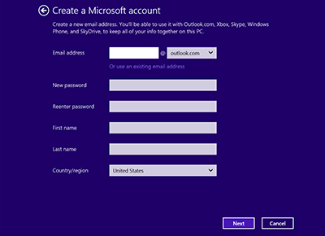how to change xbox live email address and password