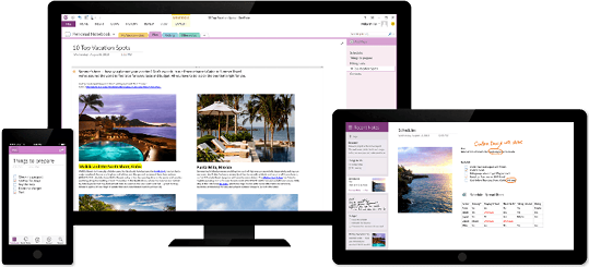 Use OneNote on all your devices