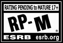 ESRB rating pending to mature 17+ logo