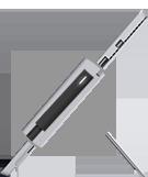 ไฟบนหัวต่อสายไฟของ Surface Pro 3