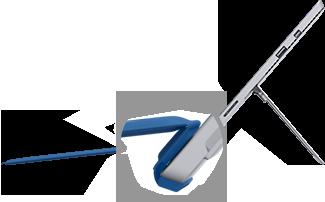 Les claviers Cover pour SurfacePro3 et Surface3 prennent en charge une position de frappe inclinée