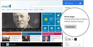 How to change your home page in Internet Explorer
