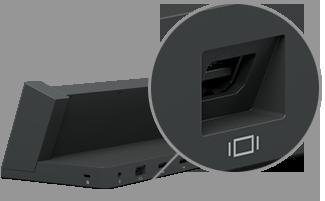 Mini DisplayPort on Surface Pro docking stations