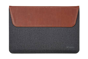 Maroo Synthetic Leather Folio for Surface Pro 3 (Dark Brown)