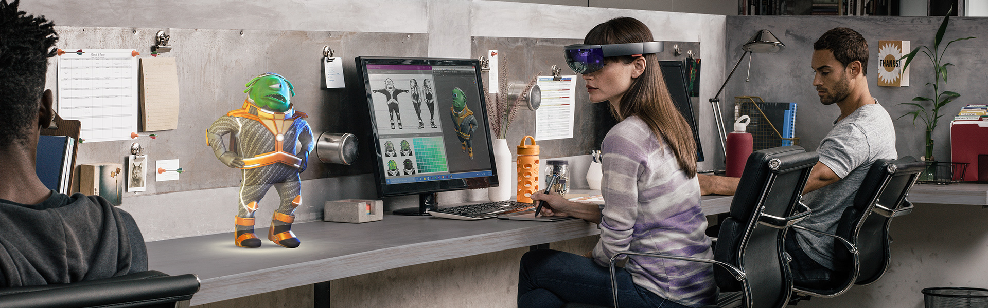 Unlock new commercial possibilities with Microsoft HoloLens