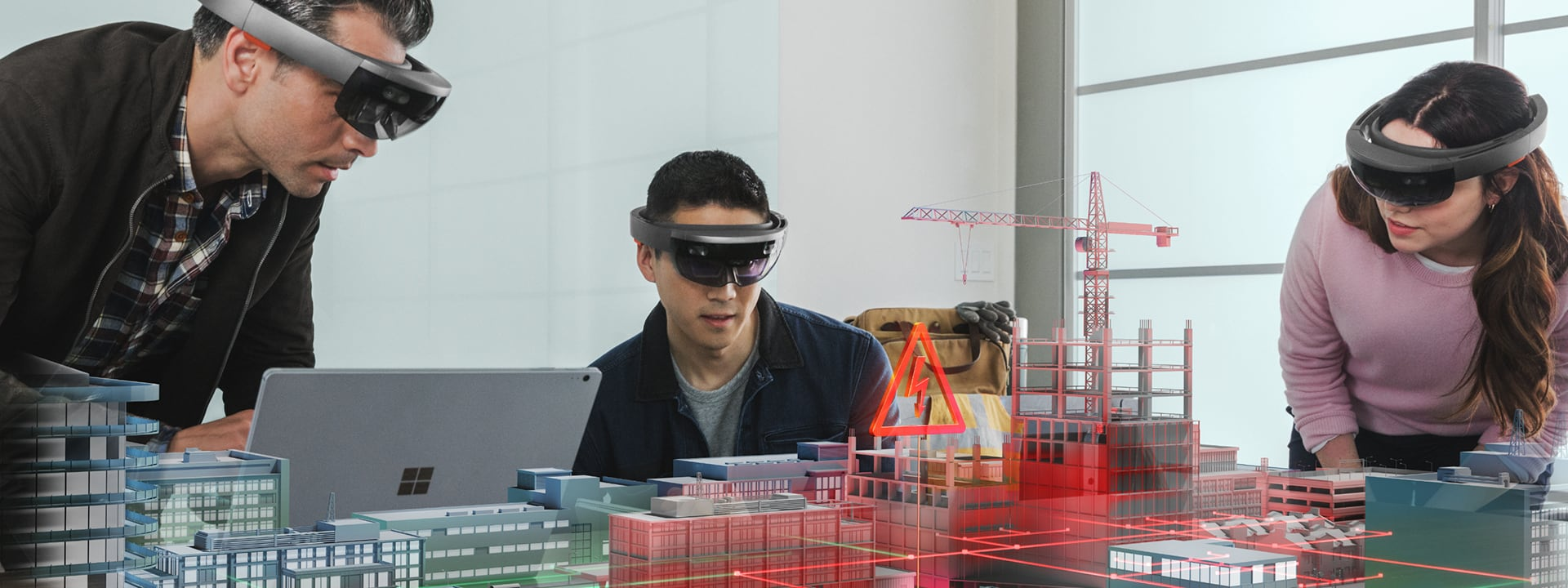 Using HoloLens to view 3D municipal models in mixed reality