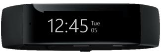 Microsoft Band in Watch Mode