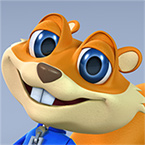 Young Conker app tile