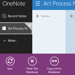Share a OneNote notebook