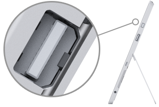Mini DisplayPort on Surface 3