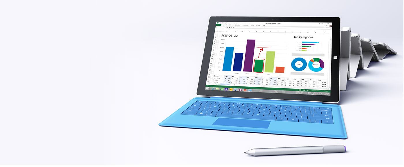 Buy Surface Pro 3 Tablet & Surface Pro 3 Accessories | Surface
