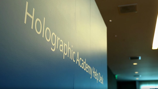 Make Imagination Real at Holographic Academy