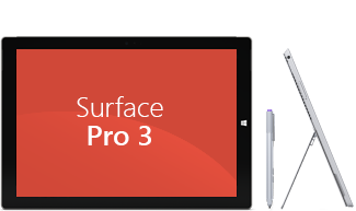Manual do Utilizador do Surface Pro 3