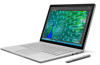 Surface Book and matching Surface Pen