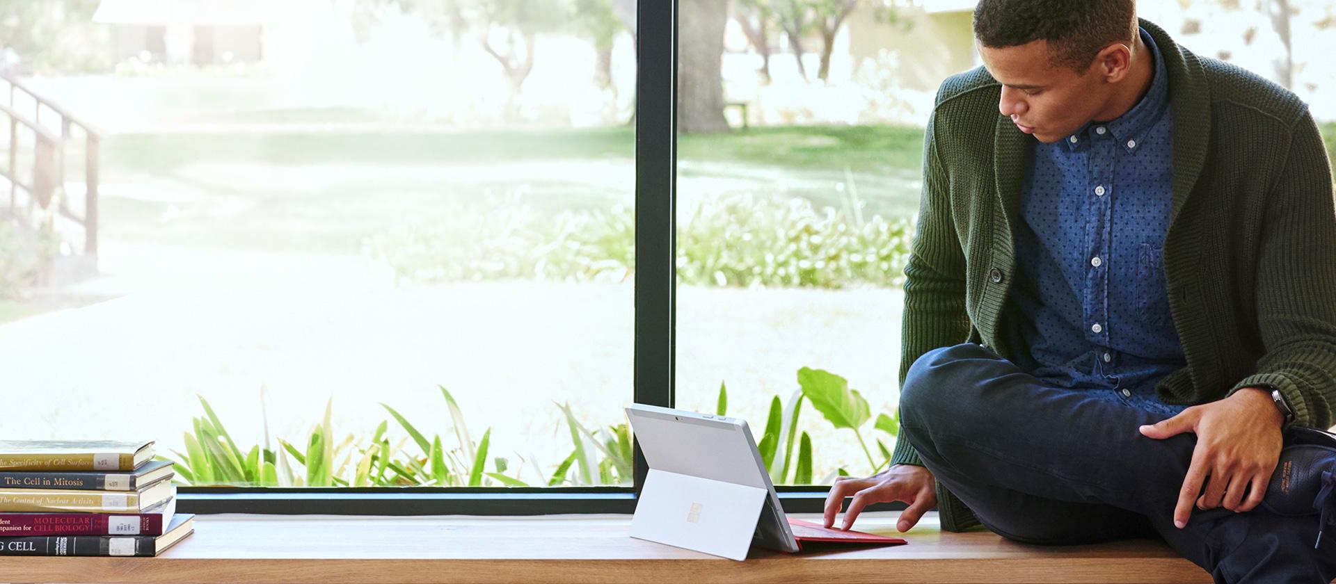 学习用 Microsoft Surface 平板电脑