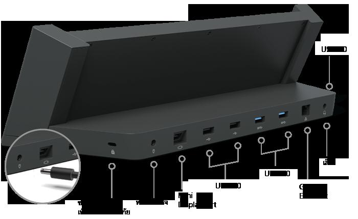 แท่นวางอุปกรณ์สำหรับ Surface Pro 3