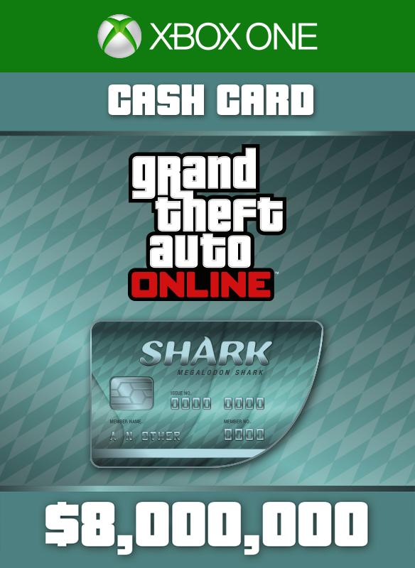 Megalodon Shark Cash Card