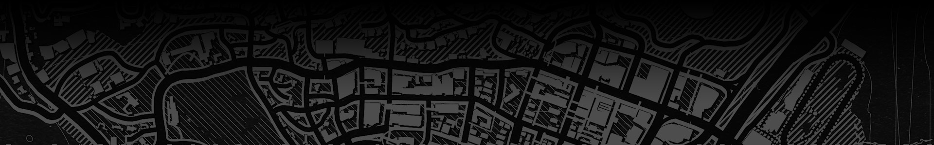 Black and white map of Los Santos