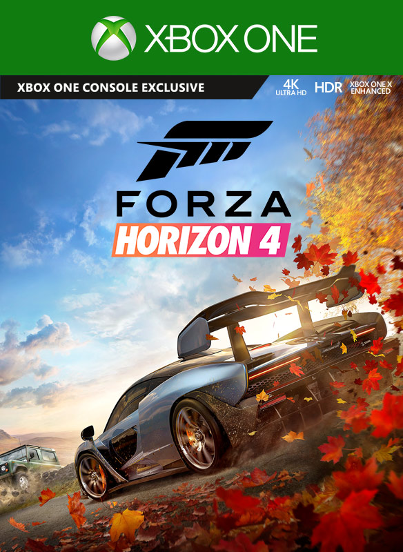 Forza Horizon 4 coverbilde