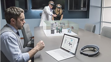 Design 3D models in mixed reality with Microsoft HoloLens