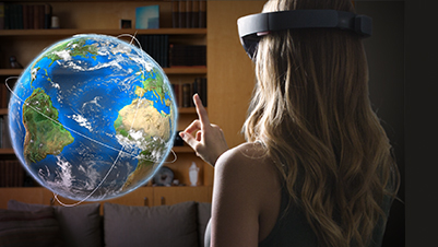 Interact with Microsoft HoloLens