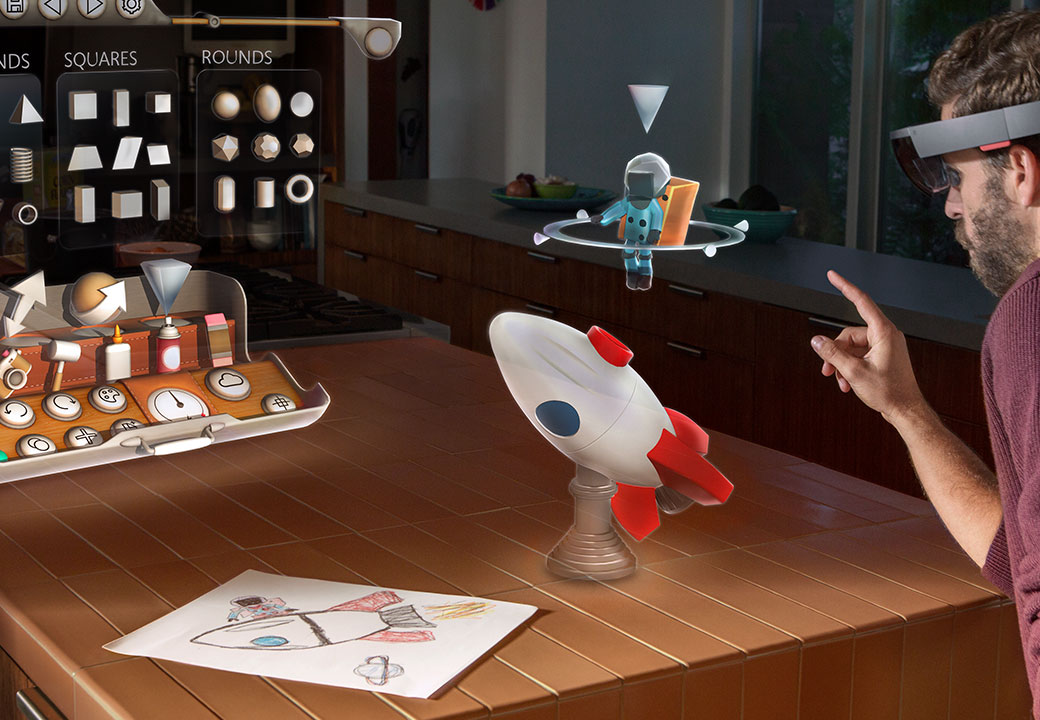 Create with Microsoft HoloLens