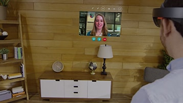 A still image of the Skype Video Feed video with play icon