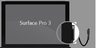 Stromkabel an Surface Pro3