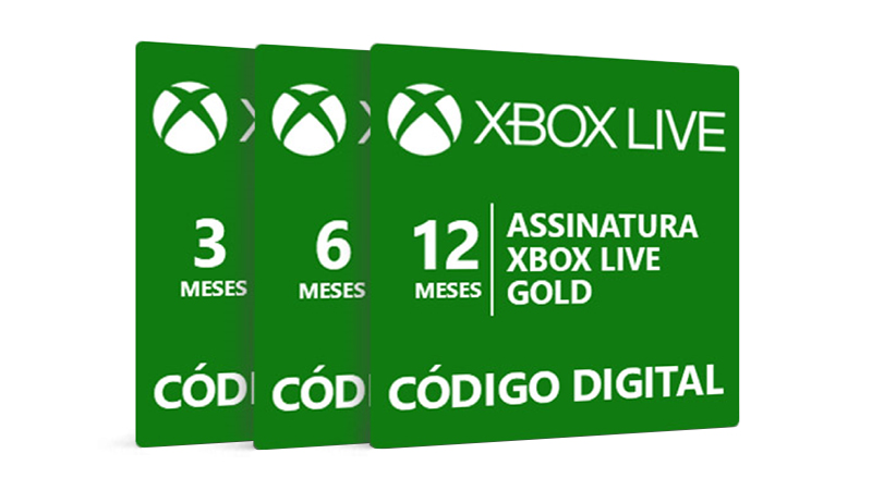 Xbox Live Gold com descontos especiais!