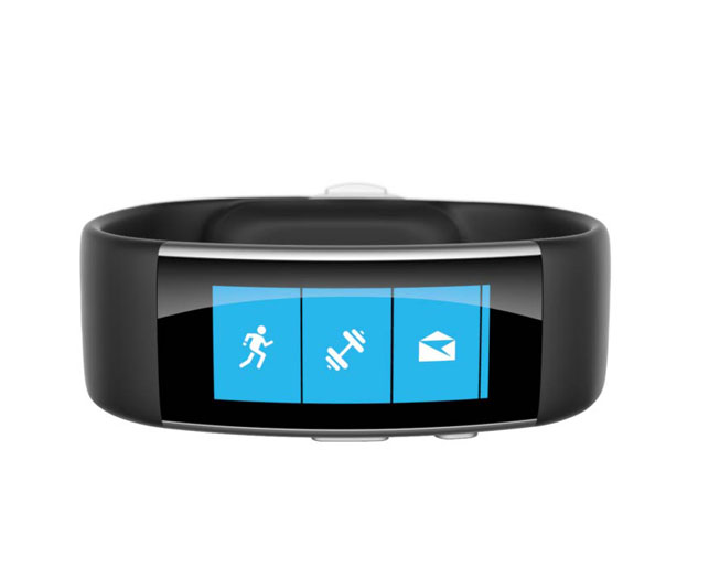 Microsoft Band 360 view