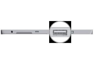 USB 3.0 port on Surface 3