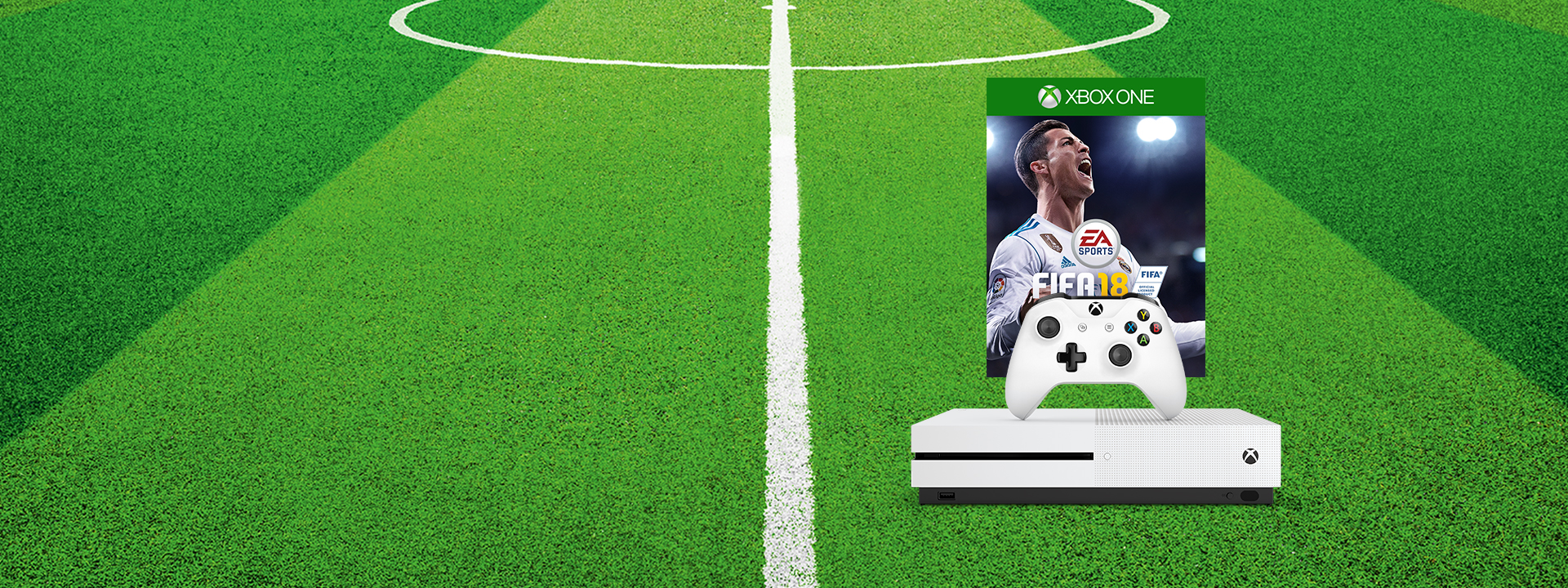 Get FIFA 18 when you buy select Xbox One S bundles
